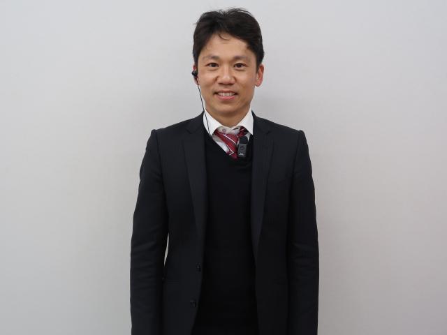ネクステージのスタッフ写真 カーライフアドバイザー 小林功