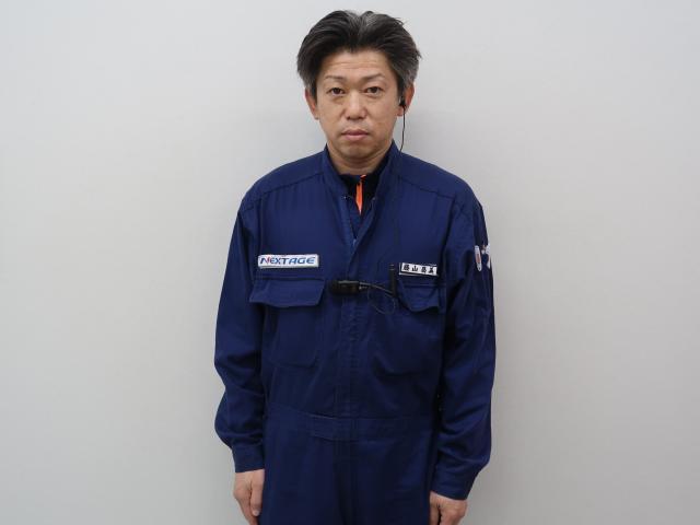 ネクステージのスタッフ写真 メカニック 藤山昌美