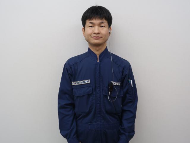 ネクステージのスタッフ写真 工場長 金田直樹