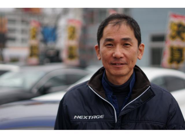 ネクステージのスタッフ写真 メカニック 加藤 和明