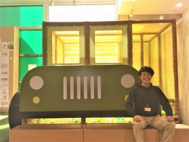ネクステージのスタッフ写真 カーライフアドバイザー 山田 瑛人