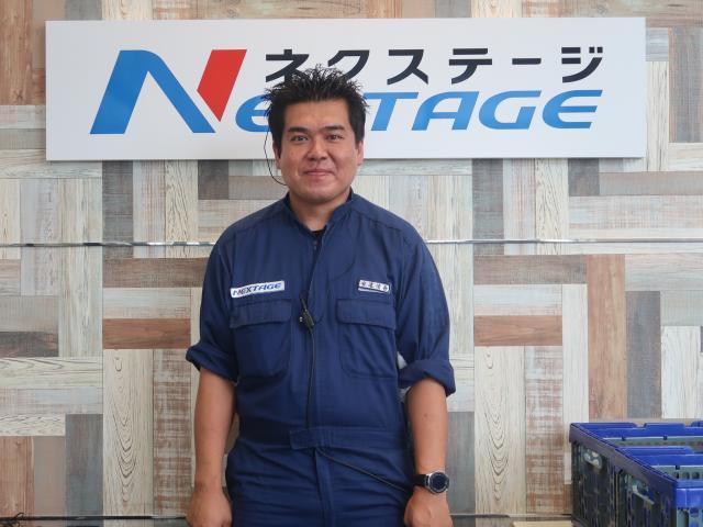 ネクステージのスタッフ写真 工場長 安達 侑吾