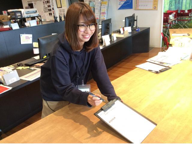 ネクステージのスタッフ写真 カーライフプランナー 井ノ口紗希
