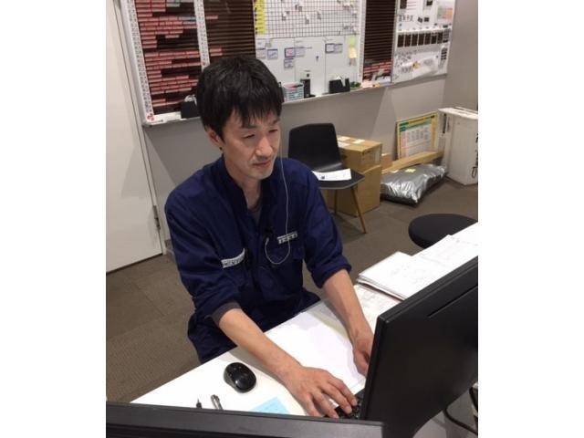 ネクステージのスタッフ写真 工場長 吉田雅哉