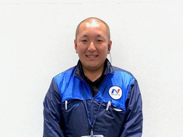 ネクステージのスタッフ写真 カーライフアドバイザー 祖父江 俊貴