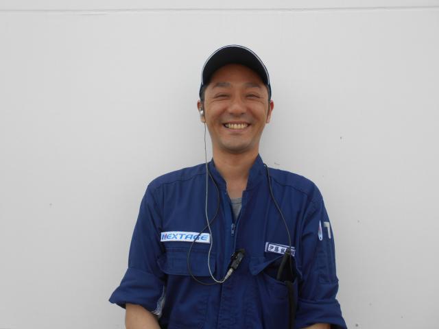 ネクステージのスタッフ写真 メカニック 伊藤 誠一郎