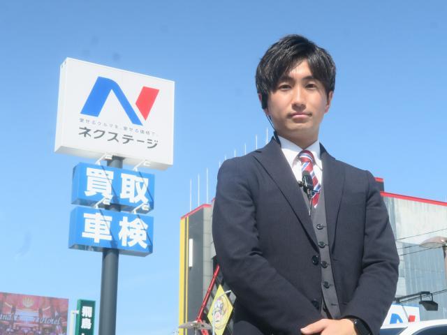 ネクステージのスタッフ写真 カーライフアドバイザー 本多 浩平