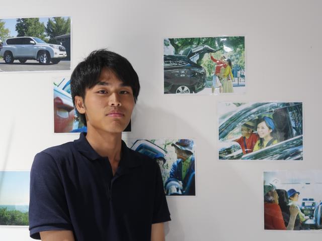 ネクステージのスタッフ写真 カーライフアドバイザー 伊藤 駿