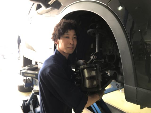 ネクステージのスタッフ写真 メカニック 三澤 史明