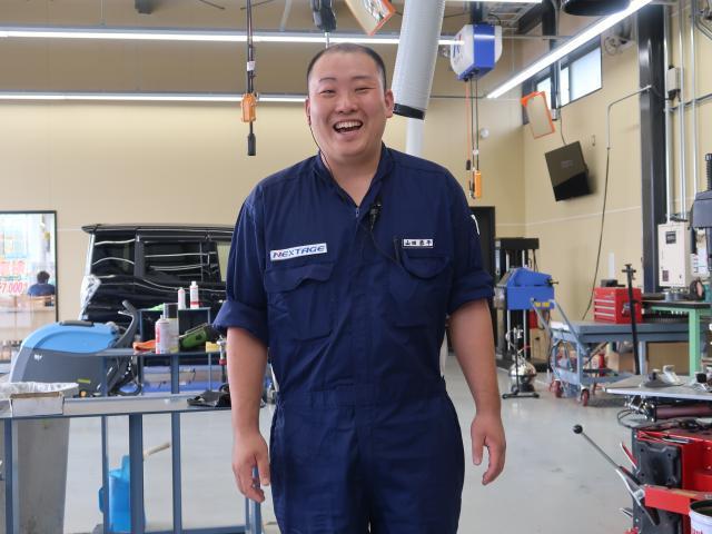 ネクステージのスタッフ写真 メカニック 山田 恭平