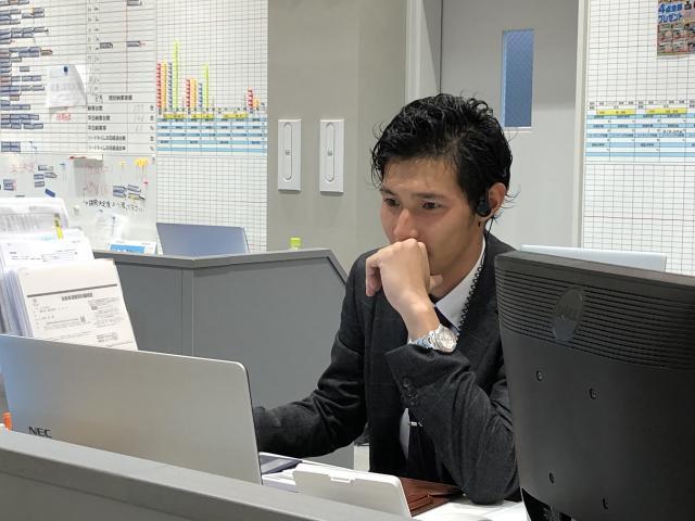 ネクステージのスタッフ写真 副店長 西 洋明