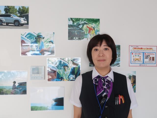 ネクステージのスタッフ写真 事務 庄子 ひろ子