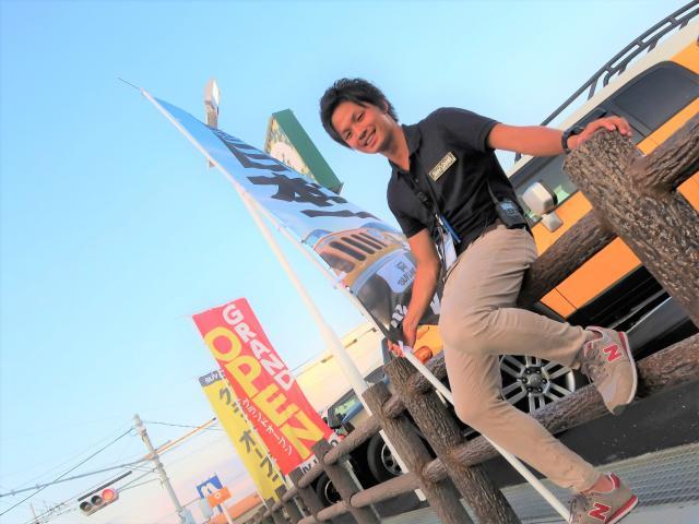 ネクステージのスタッフ写真 カーライフアドバイザー 東松 雄太