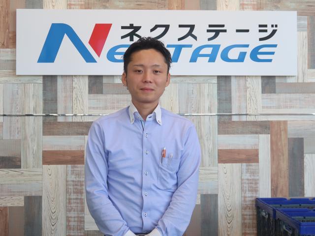 ネクステージのスタッフ写真 カーライフアドバイザー 横山 瑠都