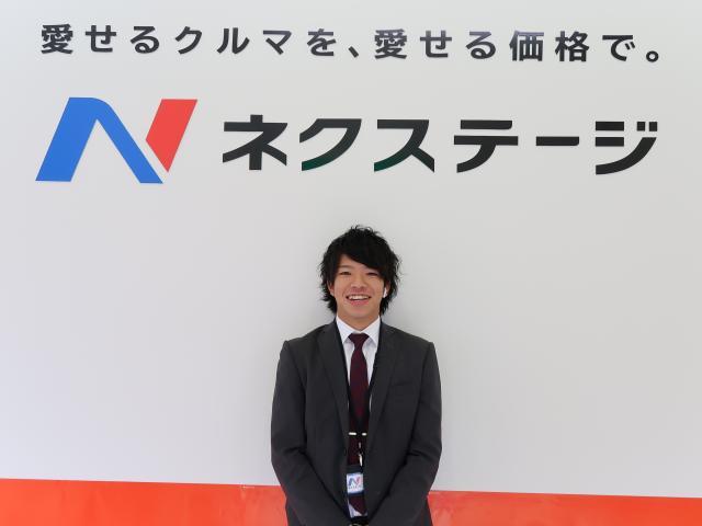 ネクステージのスタッフ写真 カーライフアドバイザー 冨樫 龍矢