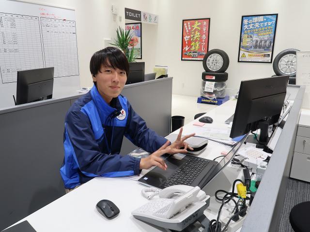 ネクステージのスタッフ写真 カーライフアドバイザー 三田村 元貴