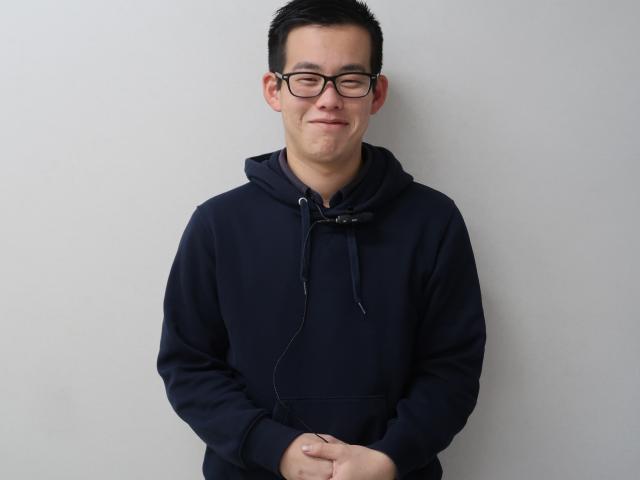 ネクステージのスタッフ写真 事務 蛭川 景太