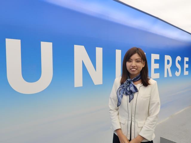 ネクステージのスタッフ写真 カーライフプランナー 鉞田 早希