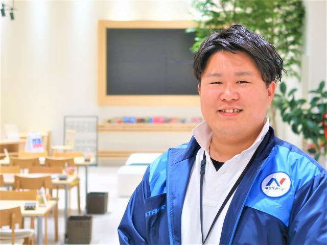 ネクステージのスタッフ写真 店長代理 山口 史晃