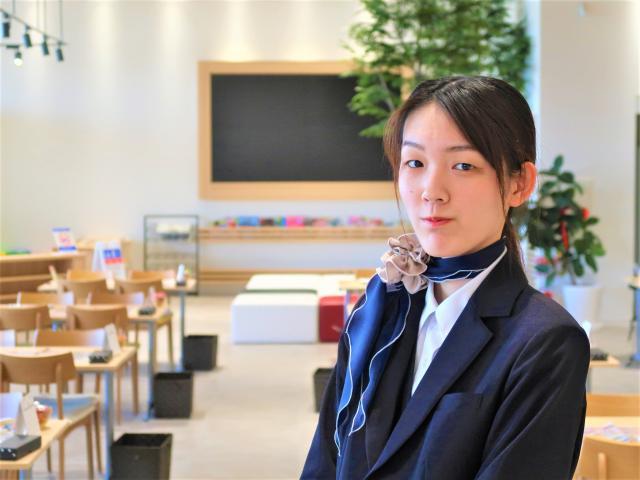ネクステージのスタッフ写真 カーライフプランナー 松尾 郁苗