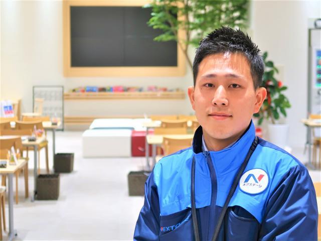 ネクステージのスタッフ写真 カーライフアドバイザー 水田 翔