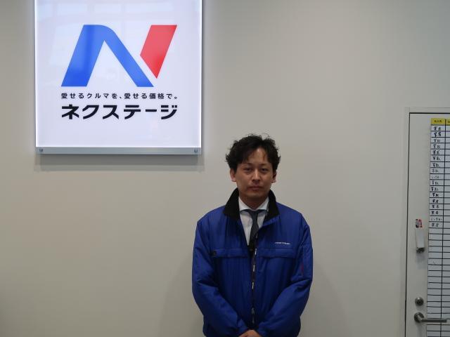 ネクステージのスタッフ写真 カーライフアドバイザー 髙木 邦裕