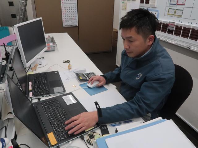 ネクステージのスタッフ写真 サービスマネージャー 今村 浩王