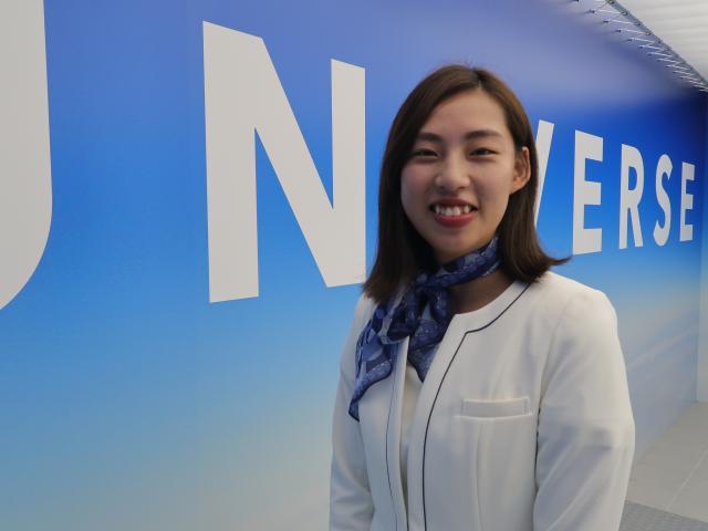 ネクステージのスタッフ写真 カーライフプランナー 後藤 湖澄美