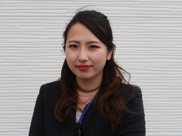 ネクステージのスタッフ写真 ショールームアテンダント 國松香帆