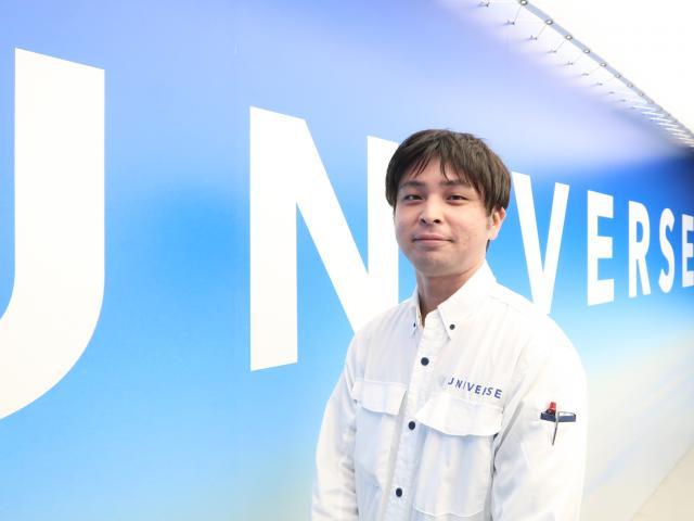ネクステージのスタッフ写真 メカニック 廣井 駿人