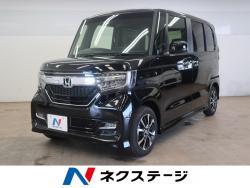 N BOXカスタム G・EXホンダセンシング 純正ナビ 電動スライドドアの中古車