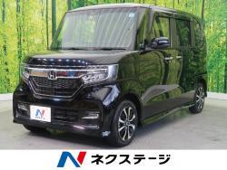 N-BOXカスタム G・Lホンダセンシング 純正SDナビ 電動スライドの中古車