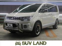 デリカD:5 シャモニー 4WD 8人 メーカーナビ 両側パワスラ HIDの中古車